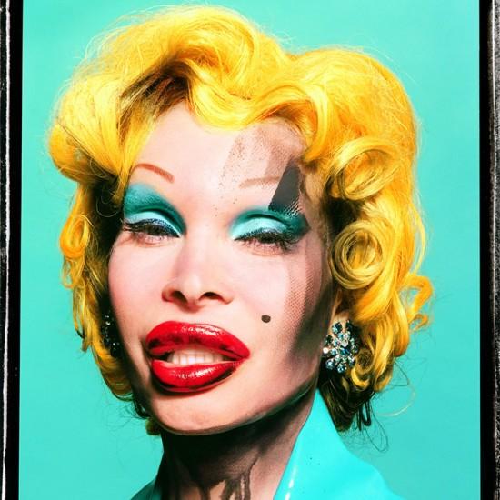David LaChapelle - Amanda As Warhol's Marilyn, 2002